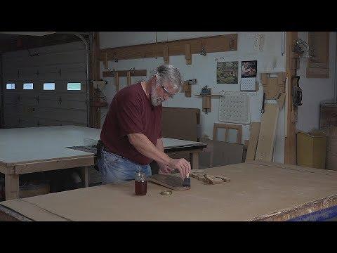 How to Ebonize Oak / Ball Winder