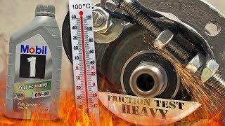 Mobil 1 Fuel Economy 0W30 Jak skutecznie olej chroni silnik? 100°C