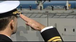 """Ceremonia de despedida del portaaviones """"Príncipe de Asturias"""""""