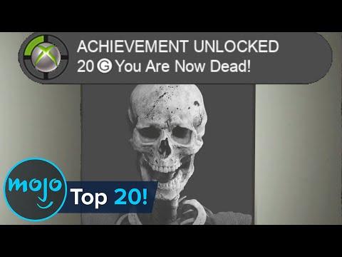 Top 20 HARDEST Video Game Achievements