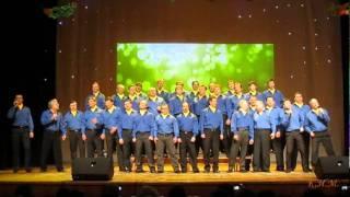 Мужской хор Кировского района Большая перемена 2012