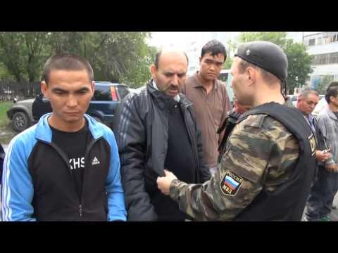 Russia: Police detain over 800 undocumented migrants