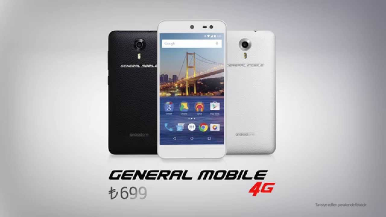 Android One – General Mobile 4G