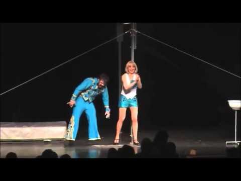 Comedy high bar act by Guga & Silvia 1812 / 2 / www.maximaaa.com