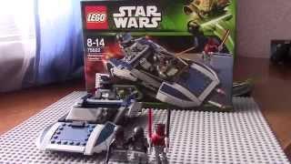 Lego star wars 75022 Мандалорианский спидер (обзор на русском)
