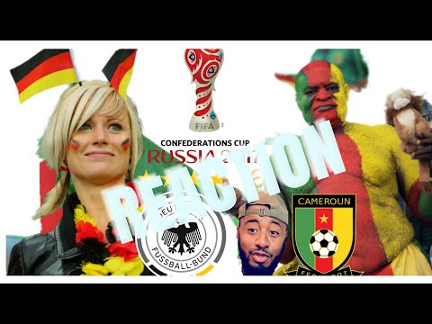 🇩🇪 GERMANY VS CAMEROON 🇨🇲 3-1 REACTION | FIFA CONFEDERATIONS CUP GROUP B