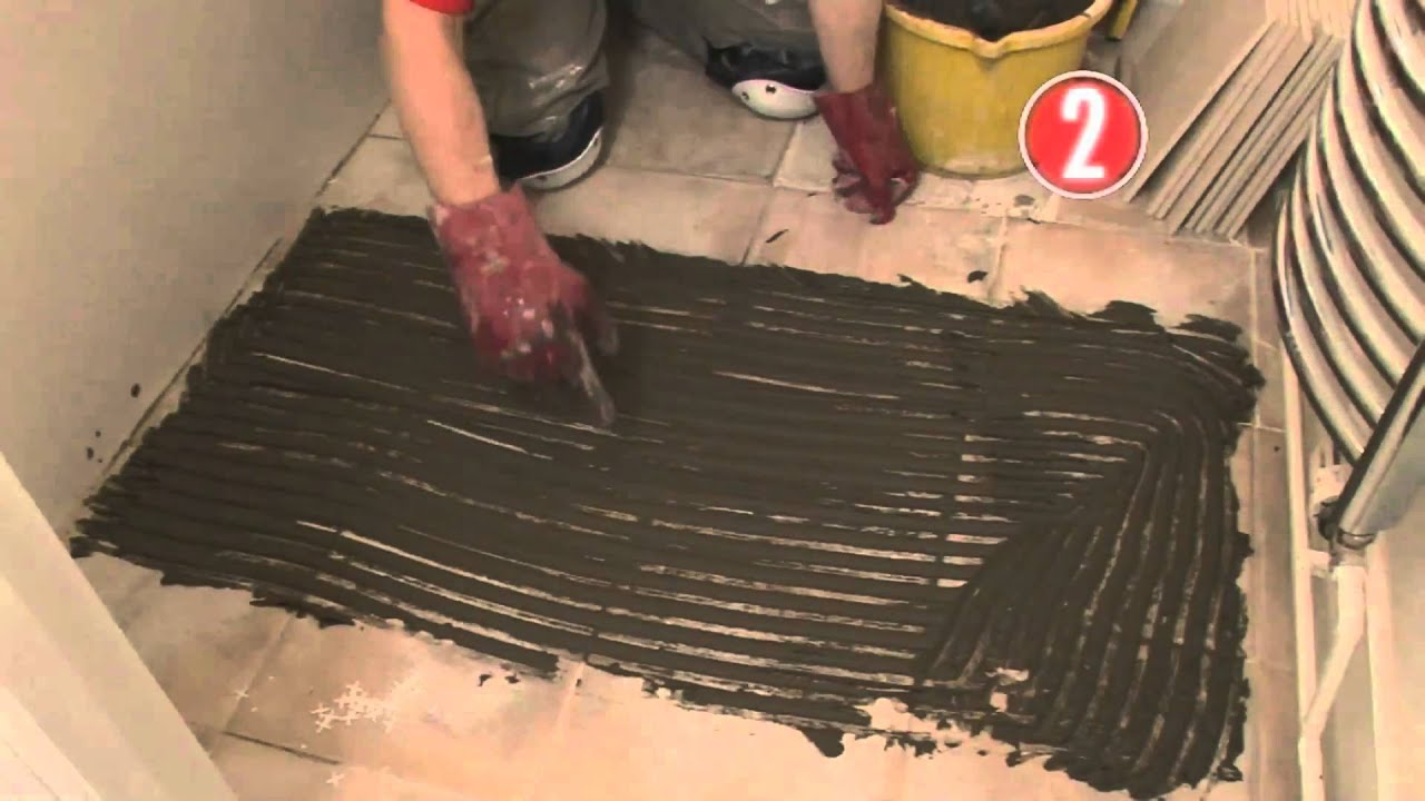 How to tile a floor youtube how to tile a floor dailygadgetfo Gallery