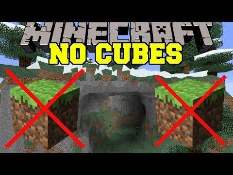 Minecraft: NO CUBES (MINECRAFT IS FOREVER CHANGED!) Mod Showcase - Видео из Майнкрафт (Minecraft)