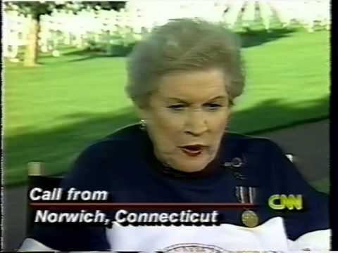 Maxene Andrews, D-Day 50th Anniversary, 1994 TV, Andrews Sisters