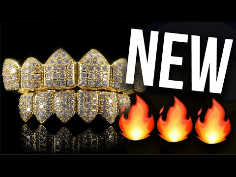 New 🔥🔥🔥 Cluster CZ grills  by Custom Gold Grillz