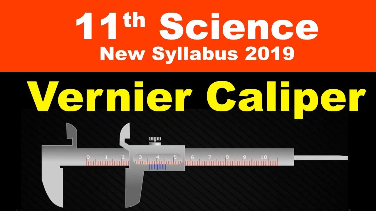 how to use vernier calliper animation