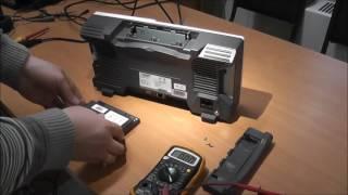 Аккумулятор для цифрового осциллографа OWON XDS3102. Небольшой обзор и установка.