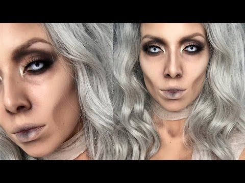 Glam Mummy Halloween Makeup | LustreLux