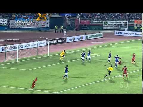INDONESIA Vs MALAYSIA (2-0) Friendly Match 14/9/2014 FULL HIGHLIGHTS