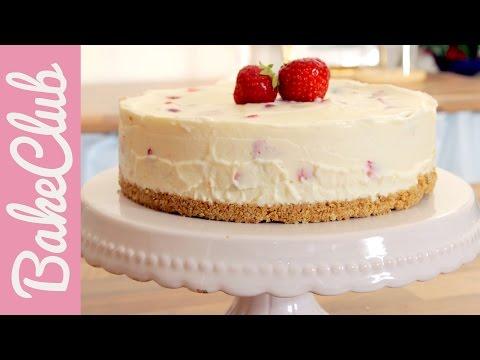 Erdbeer-Mascarpone No Bake Cake   BakeClub