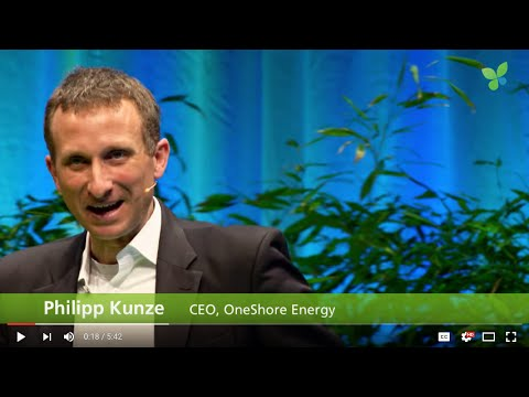 ECO16 Berlin: Philipp Kunze OneShore Energy