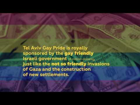 Tel Aviv Gay Pride is Royally Sponsored by the Israeli Government - Boycott TLV Pride!