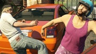Os maiores BUGS do GTA V Online!