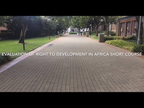 Advanced Human Rights Course: The Right to Development in Africa