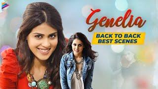 Genelia Back to Back Best Scenes | Genelia Movie Scenes | Latest Telugu Movies | Telugu FilmNagar