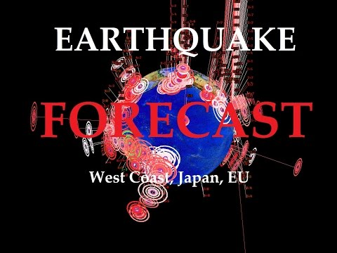 8/08/2015 -- Global Earthquake Forecast -- West Coast watch
