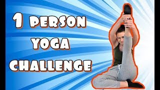One person yoga challenge! AIUUUUTOO