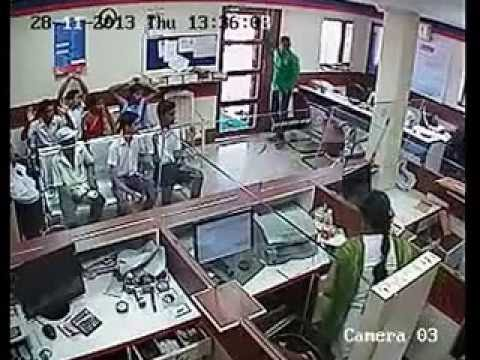 Daring Robbery in Central bank