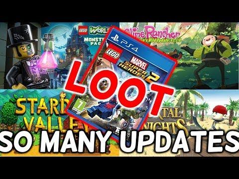 lego-marvel-super-heroes-2-loot---portal-knights---slime-rancher---lego-worlds-update-stardew-info
