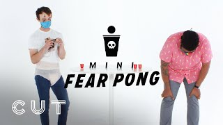 Two Grown Men Play Teeny Tiny Fear Pong   Fear Pong   Cut