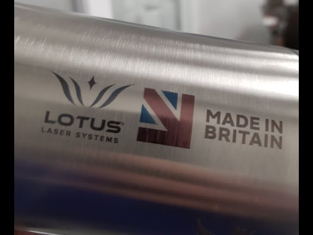 Lotus Laser Systems uMeta 20w JPT MOPA fiber laser marking various gifts