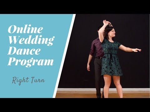 How to Dance at a Wedding | Simple Turn Tutorial