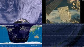 Asian Coastlines - NASA/ESA ISS LIVE Space Station With Map - 210 - 2018-10-15