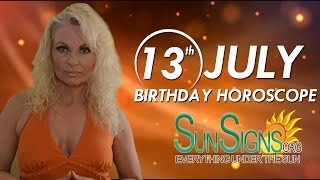 Birthday July 13th Horoscope Personality Zodiac Sign Cancer Astrology