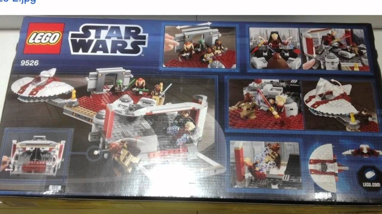 New LEGO Star Wars Set 9526 Palpatine's Arrest (Information)
