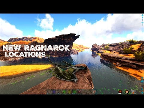 RAGNAROK's NEW SE SECTIONS - Caves and Resources (E33) - ARK Survival Gameplay