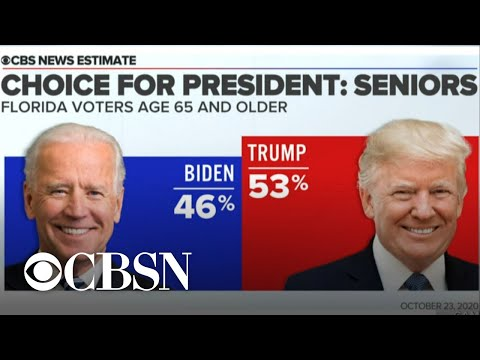 Trump and Biden campaigns make final push in battleground state Florida