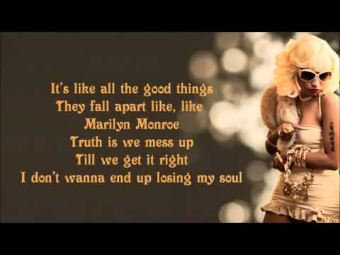 Nicki Minaj - Marilyn Monroe Lyrics Video