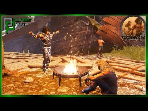 THE JOURNEY TO REACH CIVILIZATION! Conan Exiles 8