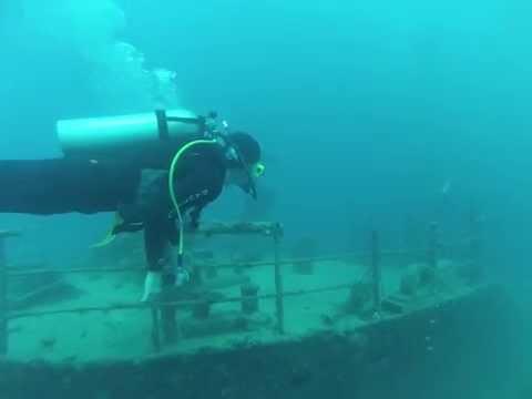 WRECK in Vanuatu   Konanda Bow (front of boat)