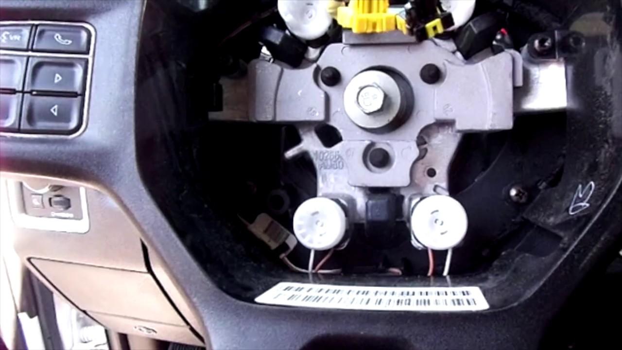 4th Gen Ram 2500 Steering Wheel Swap Youtube