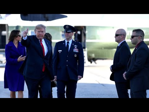 President Trump begins high-stakes trip to Asia