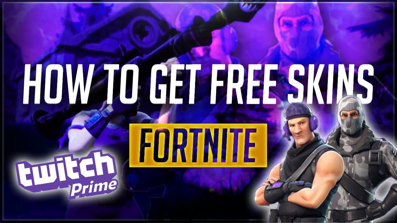 HOW TO GET FREE FORTNITE SKINS! LINK YOUR PRIME ACCOUNT ...