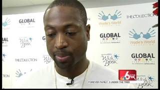 Dwyane Wade / Miami Herald Make Wishes Come True with