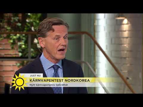 Nordkorea har provsprängt kärnvapen - Nyhetsmorgon (TV4)