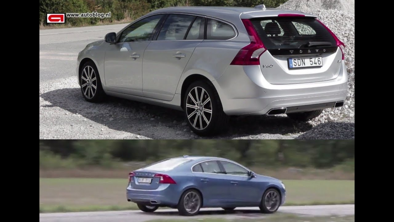VOLVO V60 D4  S60 T6 review (2013)  YouTube