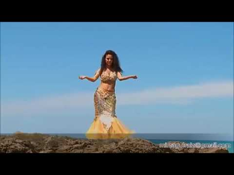 Arabic Hot Belly Dance at Beach with Nice Music