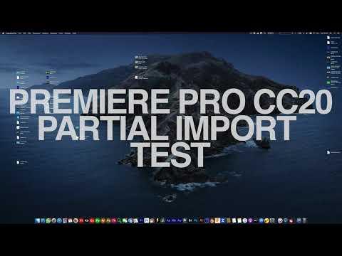 Adobe CC 2020 HEVC/H265 Import Issue on Mac