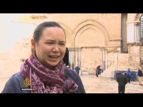 Jerusalem sees quiet Easter Sunday due to security concerns