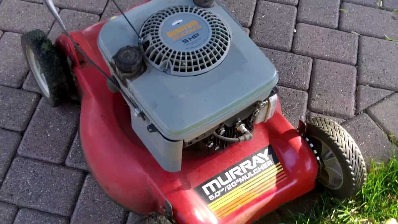 Murray 5hp Briggs Amp Stratton Quantum 20 Quot Mulching Lawn