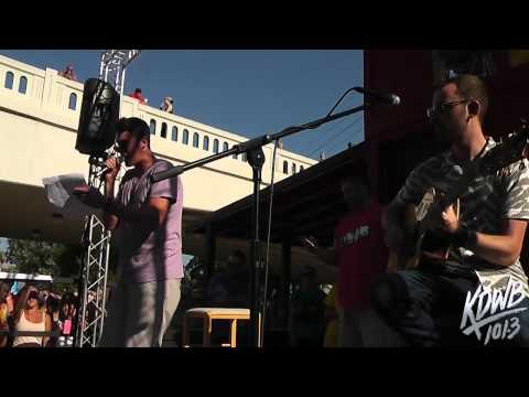 Timeflies Performs 'Minnesota Freestyle-We Can't Stop' Mashup Live at KDWB MN State Fair Booth